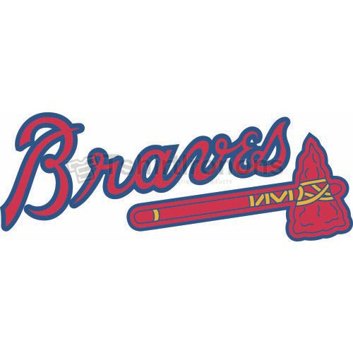 Atlanta Braves T-shirts Iron On Transfers N1394