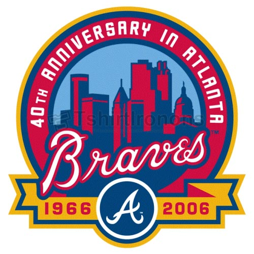 Atlanta Braves T-shirts Iron On Transfers N1404