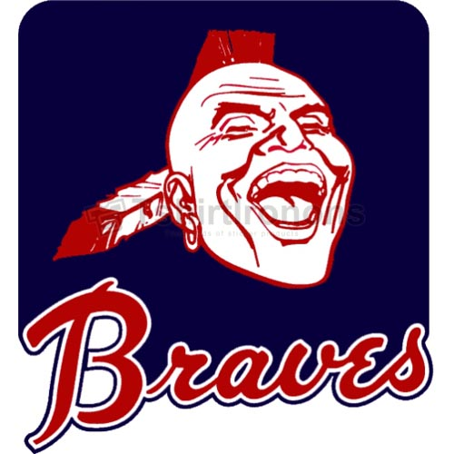 Atlanta Braves T-shirts Iron On Transfers N1406