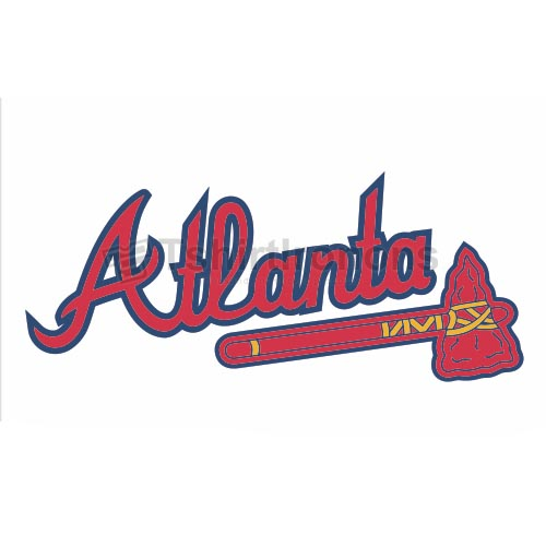 Atlanta Braves T-shirts Iron On Transfers N1407