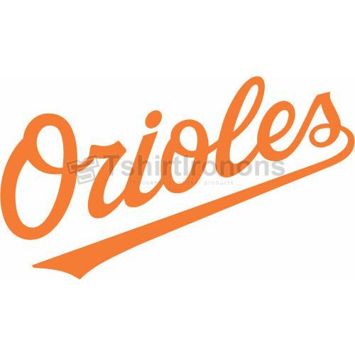 Baltimore Orioles T-shirts Iron On Transfers N1413
