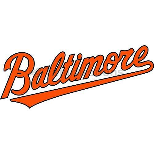 Baltimore Orioles T-shirts Iron On Transfers N1414