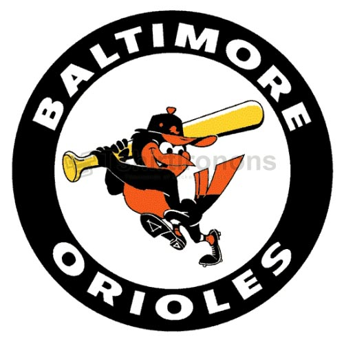 Baltimore Orioles T-shirts Iron On Transfers N1417