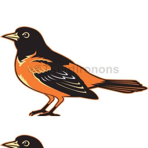Baltimore Orioles T-shirts Iron On Transfers N1420