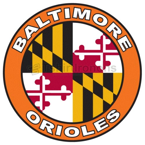 Baltimore Orioles T-shirts Iron On Transfers N1422