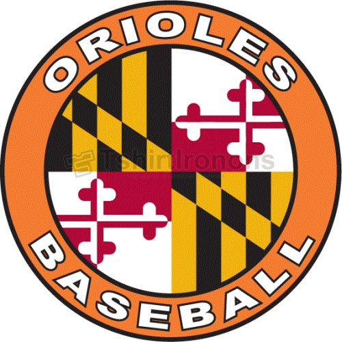 Baltimore Orioles T-shirts Iron On Transfers N1423