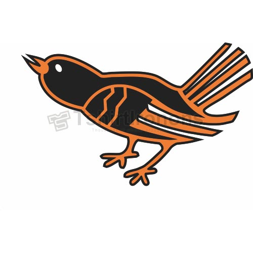 Baltimore Orioles T-shirts Iron On Transfers N1429
