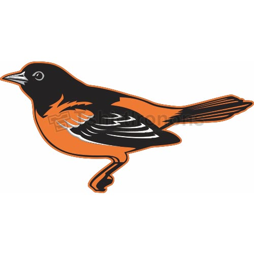 Baltimore Orioles T-shirts Iron On Transfers N1437
