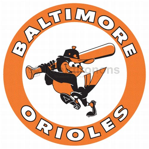 Baltimore Orioles T-shirts Iron On Transfers N1441