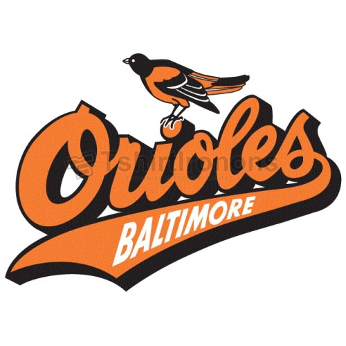 Baltimore Orioles T-shirts Iron On Transfers N1442