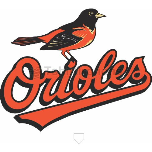 Baltimore Orioles T-shirts Iron On Transfers N1447