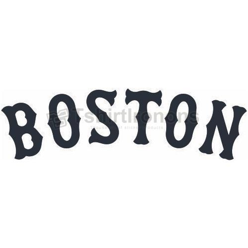 Boston Red Sox T-shirts Iron On Transfers N1451