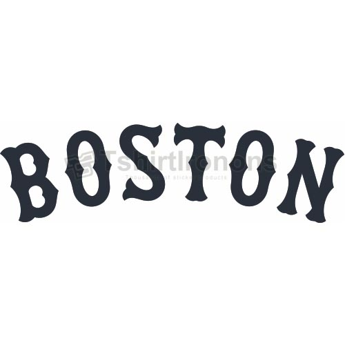 Boston Red Sox T-shirts Iron On Transfers N1473