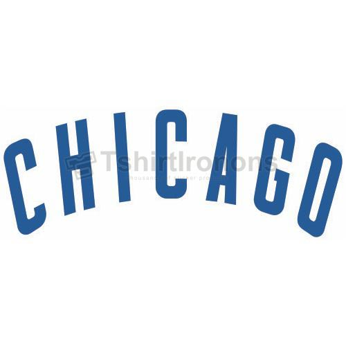 Chicago Cubs T-shirts Iron On Transfers N1476
