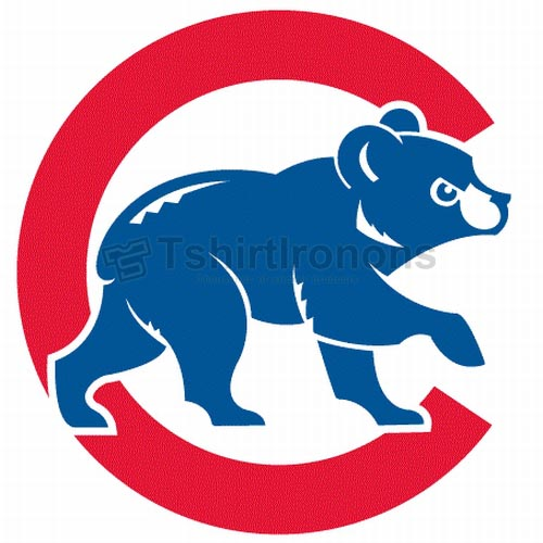 Chicago Cubs T-shirts Iron On Transfers N1480