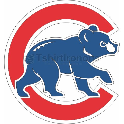 Chicago Cubs T-shirts Iron On Transfers N1482