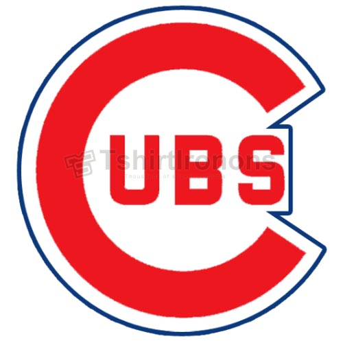 Chicago Cubs T-shirts Iron On Transfers N1489