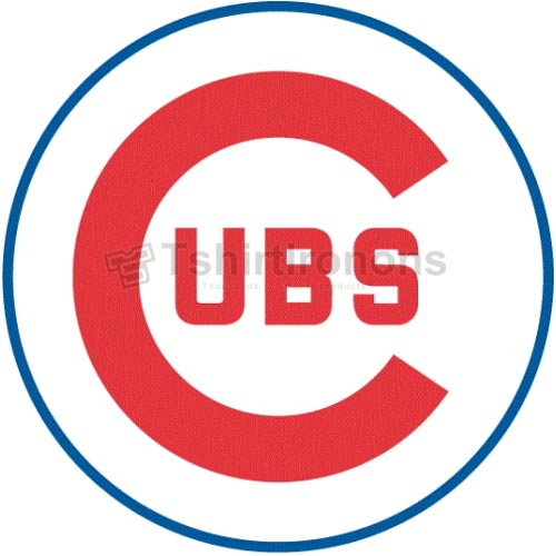 Chicago Cubs T-shirts Iron On Transfers N1490