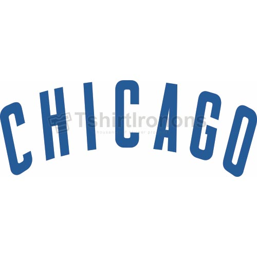 Chicago Cubs T-shirts Iron On Transfers N1492