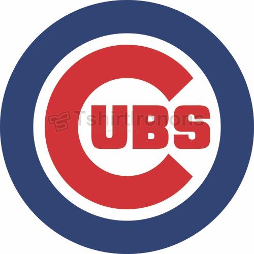Chicago Cubs T-shirts Iron On Transfers N1493