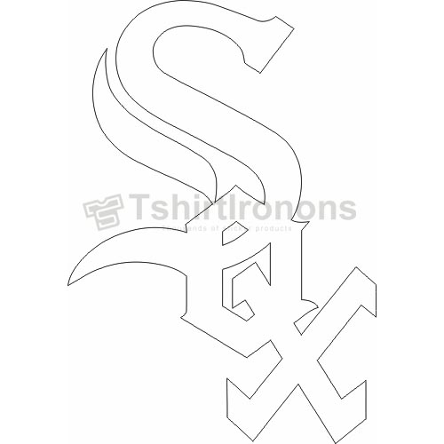 Chicago White Sox T-shirts Iron On Transfers N1503