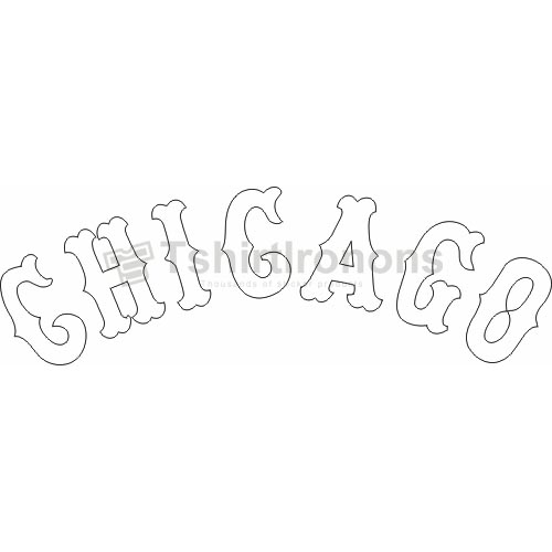 Chicago White Sox T-shirts Iron On Transfers N1511