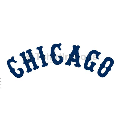 Chicago White Sox T-shirts Iron On Transfers N1513
