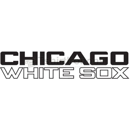 Chicago White Sox T-shirts Iron On Transfers N1515