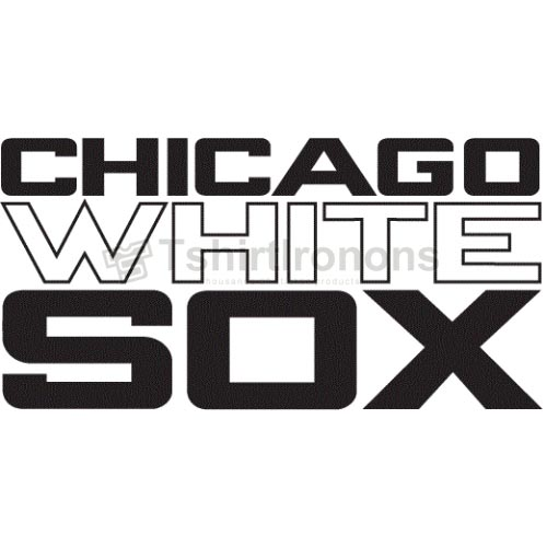 Chicago White Sox T-shirts Iron On Transfers N1516