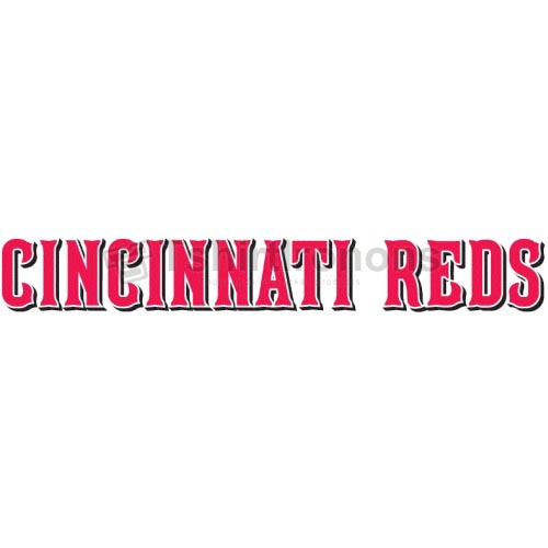 Cincinnati Reds T-shirts Iron On Transfers N1537