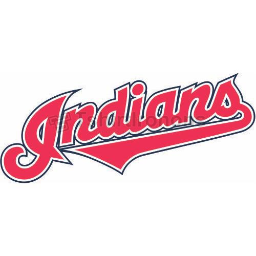 Cleveland Indians T-shirts Iron On Transfers N1543