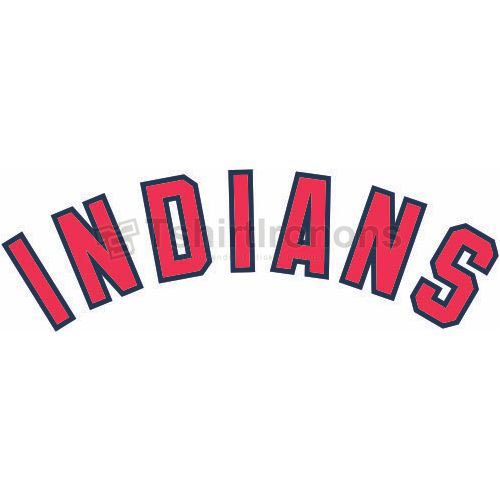 Cleveland Indians T-shirts Iron On Transfers N1544