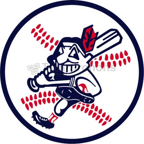 Cleveland Indians T-shirts Iron On Transfers N1546