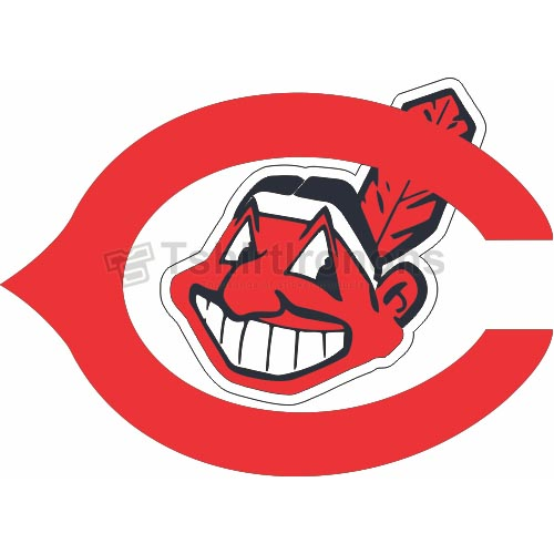 Cleveland Indians T-shirts Iron On Transfers N1548