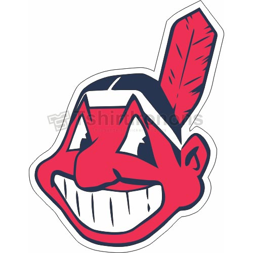 Cleveland Indians T-shirts Iron On Transfers N1550