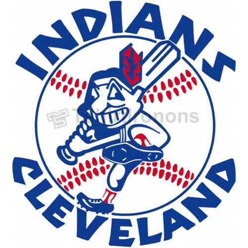 Cleveland Indians T-shirts Iron On Transfers N1554