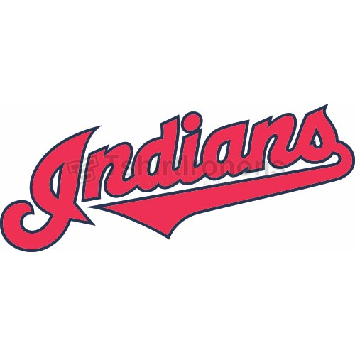 Cleveland Indians T-shirts Iron On Transfers N1556