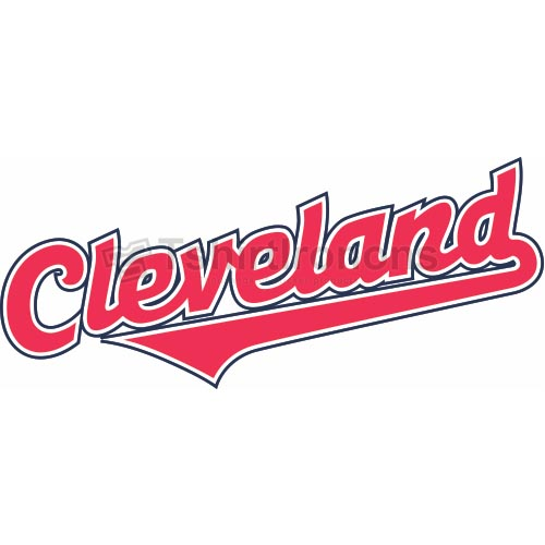 Cleveland Indians T-shirts Iron On Transfers N1557