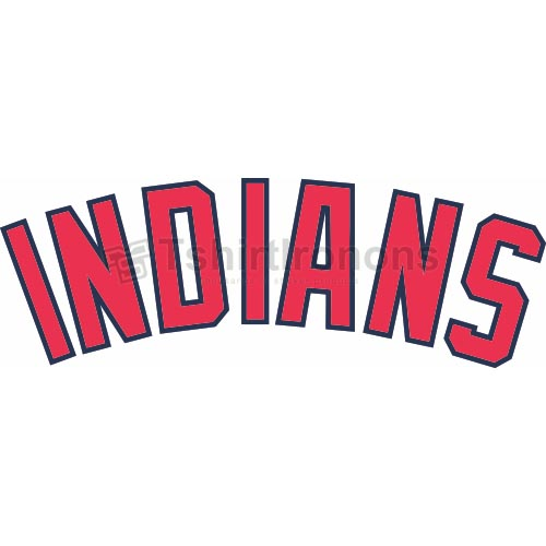 Cleveland Indians T-shirts Iron On Transfers N1559