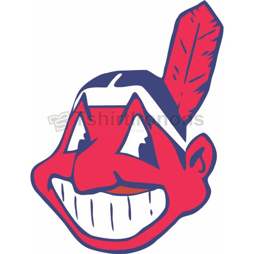 Cleveland Indians T-shirts Iron On Transfers N1560