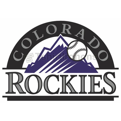 Colorado Rockies T-shirts Iron On Transfers N1571