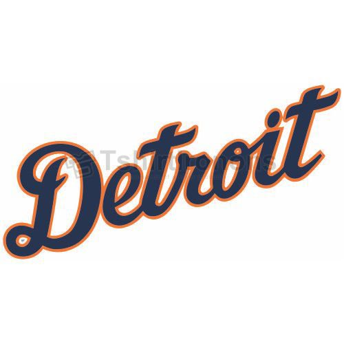 Detroit Tigers T-shirts Iron On Transfers N1574