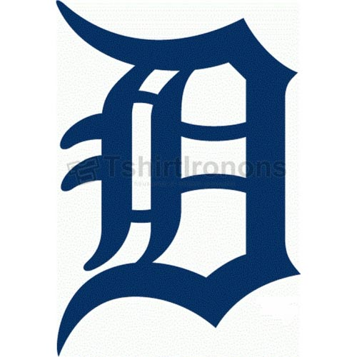 Detroit Tigers T-shirts Iron On Transfers N1575