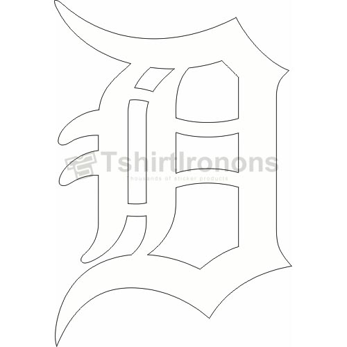 Detroit Tigers T-shirts Iron On Transfers N1578