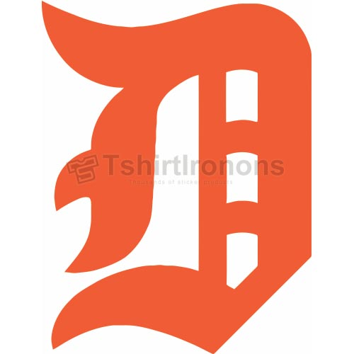 Detroit Tigers T-shirts Iron On Transfers N1579