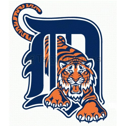 Detroit Tigers T-shirts Iron On Transfers N1581
