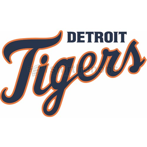 Detroit Tigers T-shirts Iron On Transfers N1582