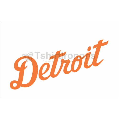Detroit Tigers T-shirts Iron On Transfers N1584