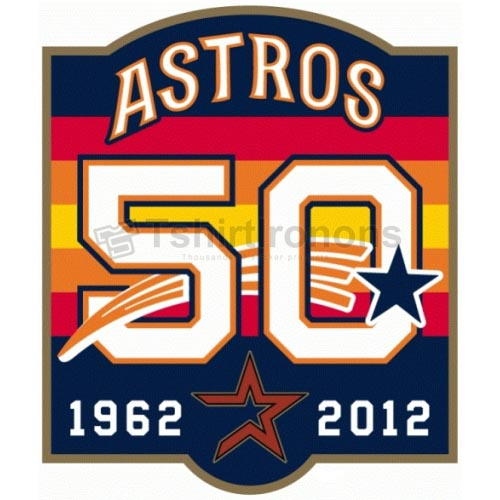 Houston Astros T-shirts Iron On Transfers N1603