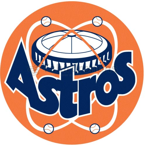 Houston Astros T-shirts Iron On Transfers N1605